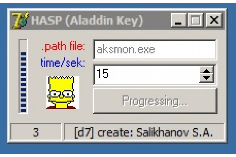 Hasp aladdin key