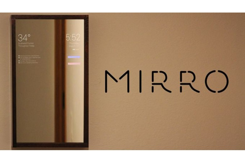 Умное зеркало c информером с функциями умного дома купить недорого с доставкой